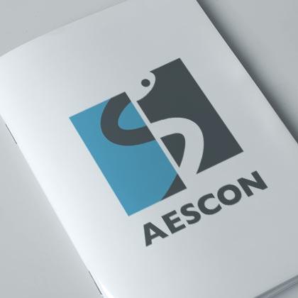 Logo Design Aescon Klein Wiele Grafik Design Nürnberg